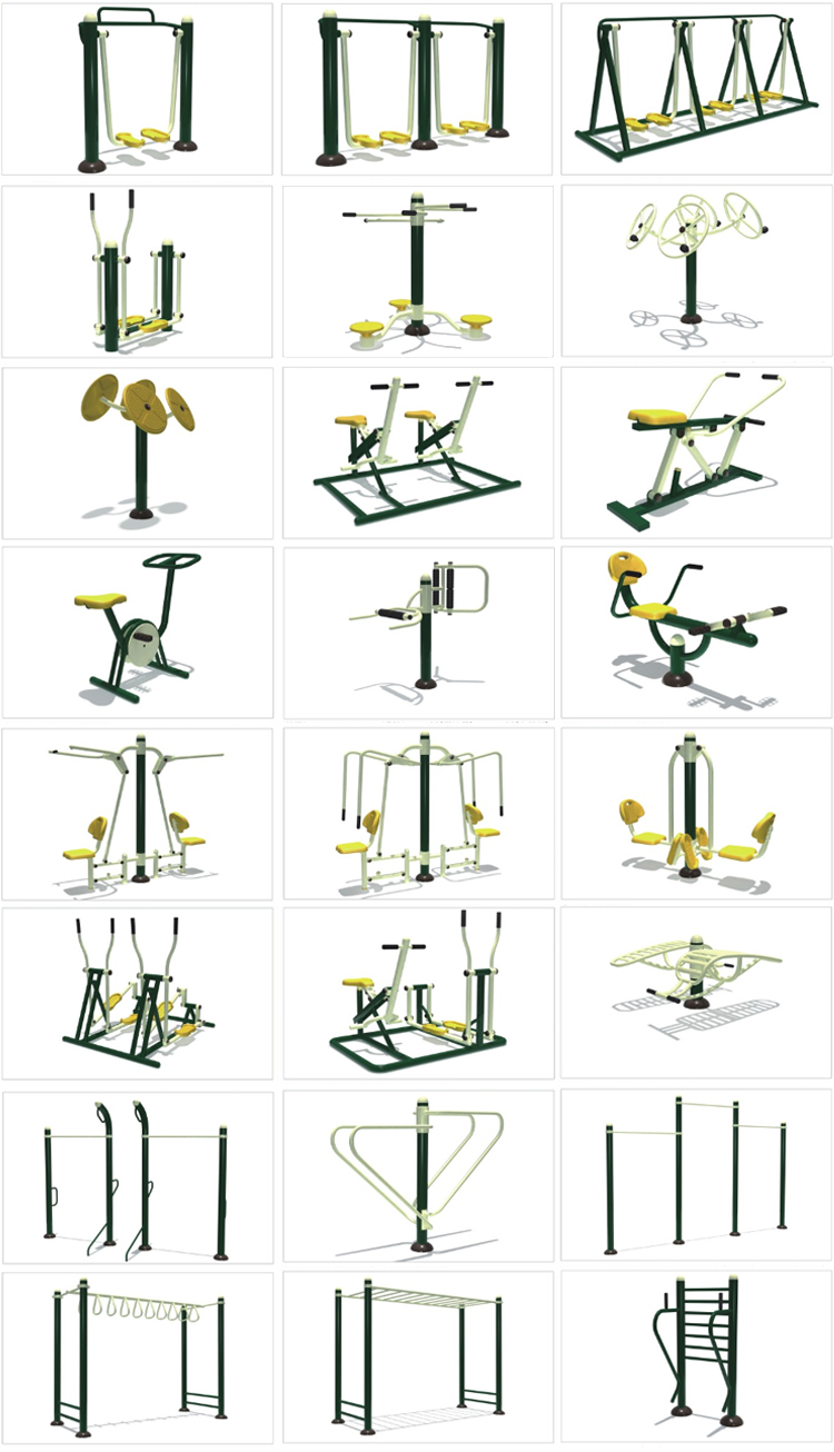 High quality outdoor fitness equipment rowing machine for sale
