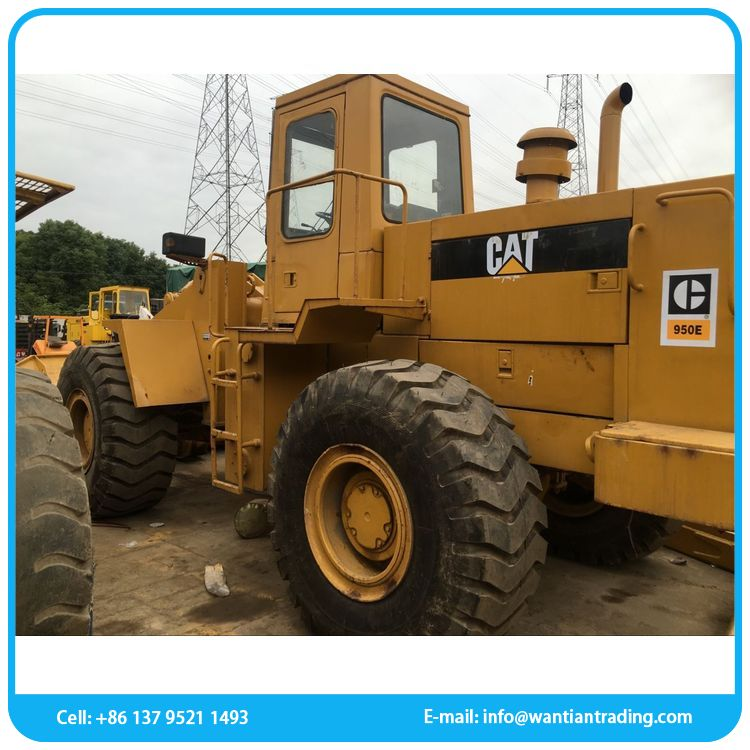 New product modern selling used caterpillar 966e wheel loader