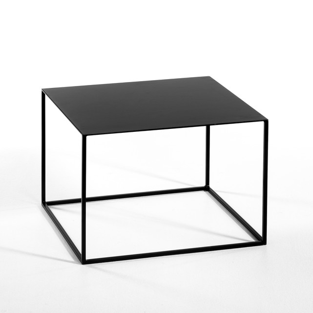 Black Square Side Tables Metal Centre Table Coffee Table Buy