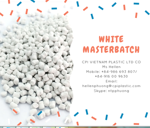 High quality White masterbatch for PP, PE, ABS, PA, PS, PVC