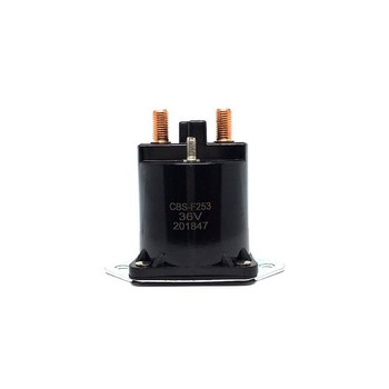 CBS-F253 Motor Starter Relay Copper Contact 4 Terminal 36V Solenoid 8016 Club Car DS 36 Volt Electric Golf Cart 1976-1998, 8016