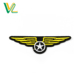 Tailor Made Unique Pilot Wings Embroidery Iron On For Jeans Cloth Badge