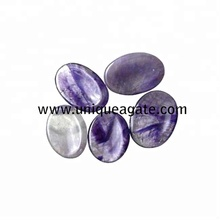 Ametista Gemstone Worry Pedra