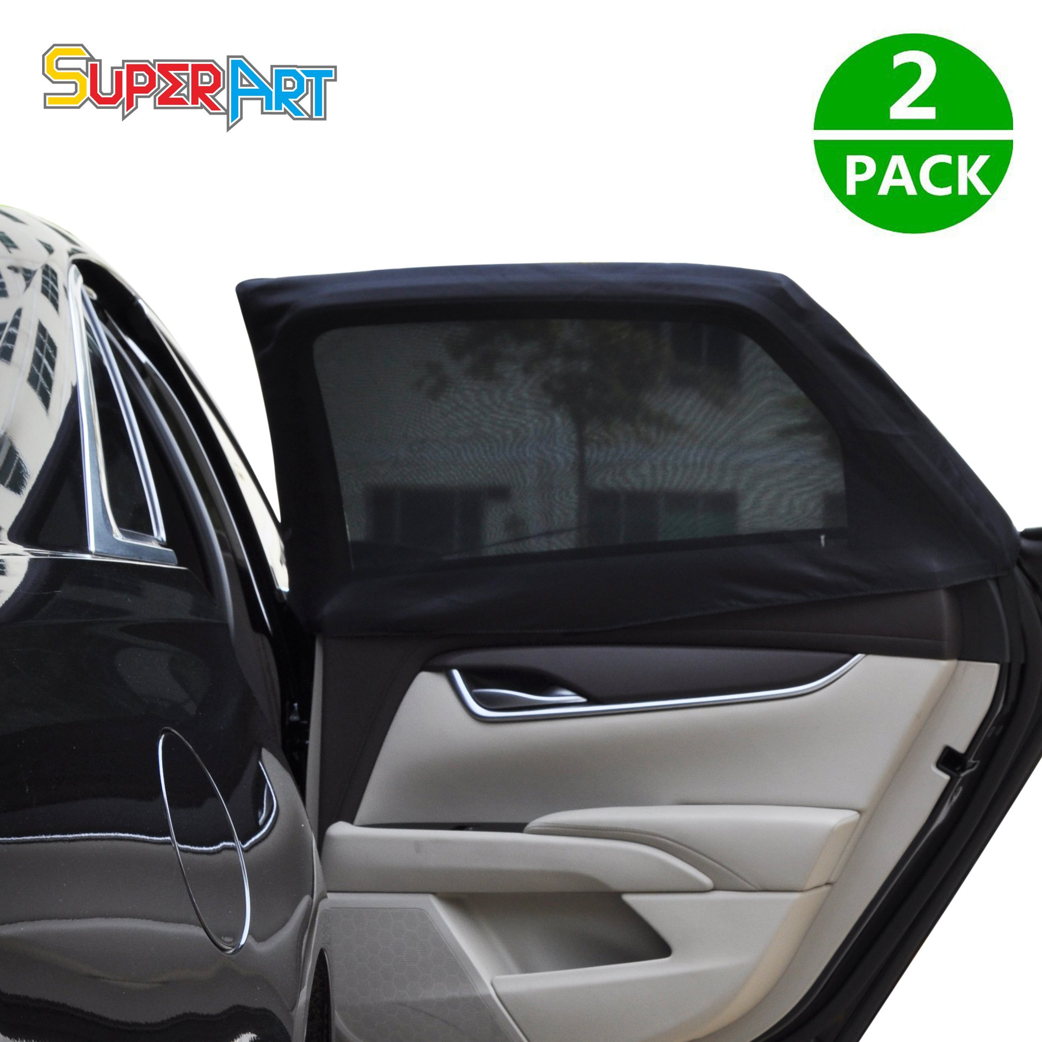 2 Disney Pixar Cars Kids Baby Children Car Window UV Protection Mesh Sun Blinds