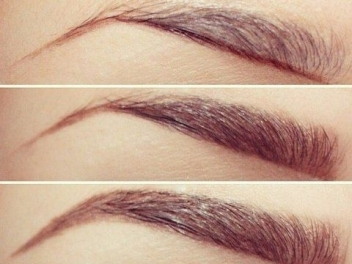 Henna artificial eyebrow color