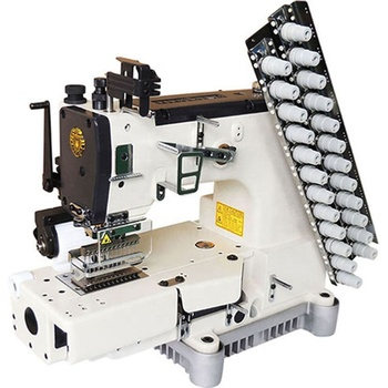 Sale in Vietnam adidas line tapes automatic tape cutter elastic band machine for underwear industrial cover stitch machine, View Multi needle Double