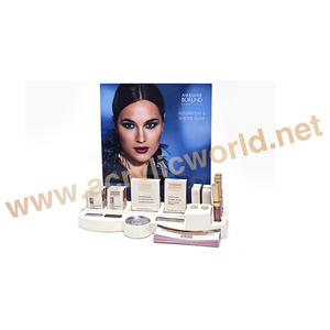 OEM/ODM acrylic removable cosmetic display,acrylic mascaras display in super mall