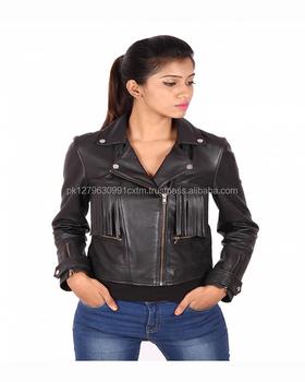 98893f228 Elegante Negro Chaqueta Casual Looks Con Chaqueta De Cuero Negro Níquel  Acabado Niñas Cuero Original - Buy Marca Nueva Venta Al Por Mayor Chaqueta  ...