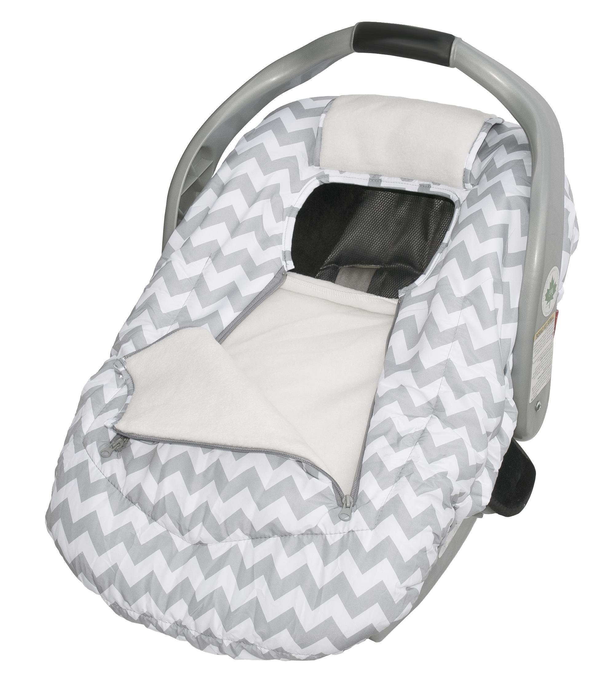 b710bb5515ac Buy Jolly Jumper Arctic Sneak A Peek Infant Car Seat Cover (Grey) in ...