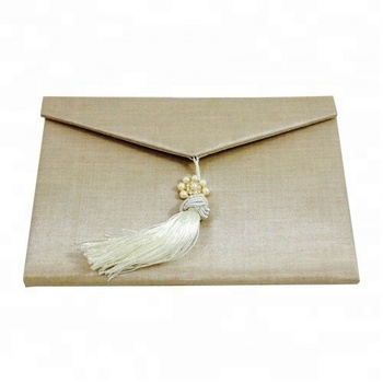 luxury champagne silk wedding envelope buy wedding envelopes