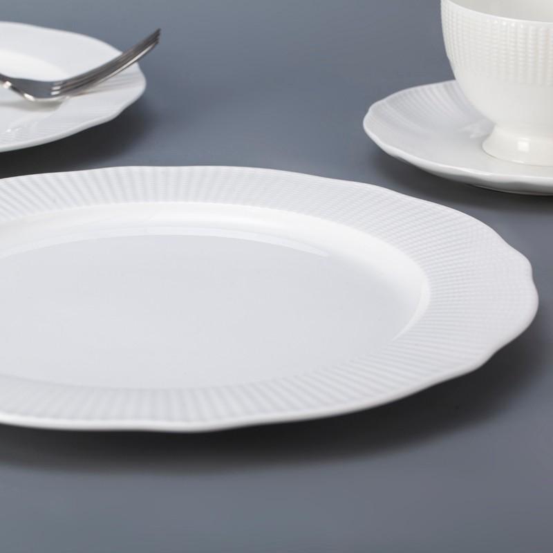 product-Two Eight-Europe style novelty personalized white bone china dinnerware set for restaurant-i-1