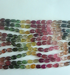natural tourmaline nugget beads