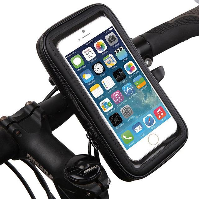 9cb460bc0db Universal Smartphone Waterproof Pouch Holster Case Bike Phone Holder ...