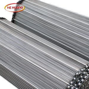 Metal Honeycomb mesh conveyor belts