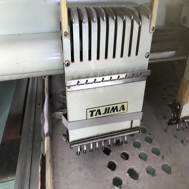 Tajima 4 head embroidery machine