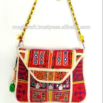 Wholesale Banjara Style handbags-Tribal hand embroidery purse-Indian  Traditional wedding handmade handbags 18f387b5da4e0