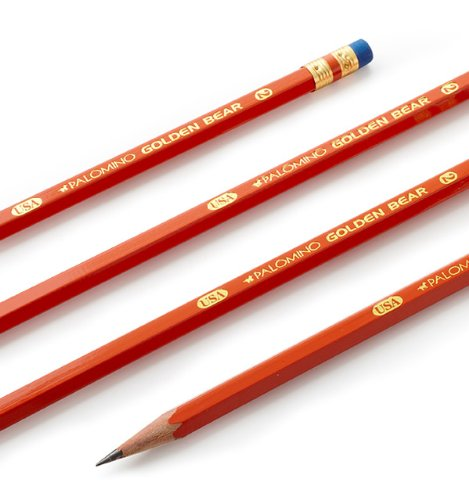 Golden Bear Orange #2 Pencils (144 Pack) - Made in the USA