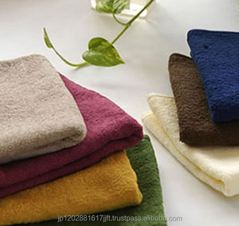 "Japanese GENUINE Imabari ""Color Face Towel"" 50 colors available with ""Imabari""trademark, for High-class Beauty salon"