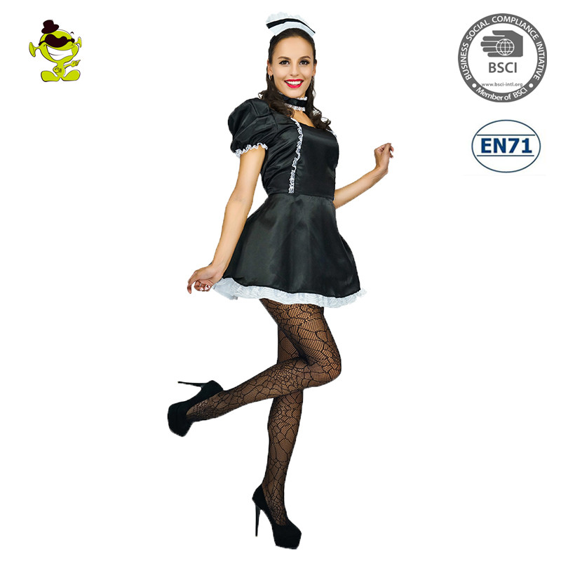 Sexy Women Halloween Costume Cosplay French Maid Lingerie Outfit Fancy Dress 66b48e0f3