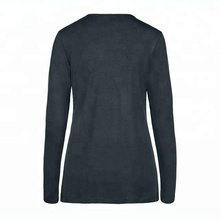 Nylon Spandex Wholesale Women Sports Long Sleeve Shirt