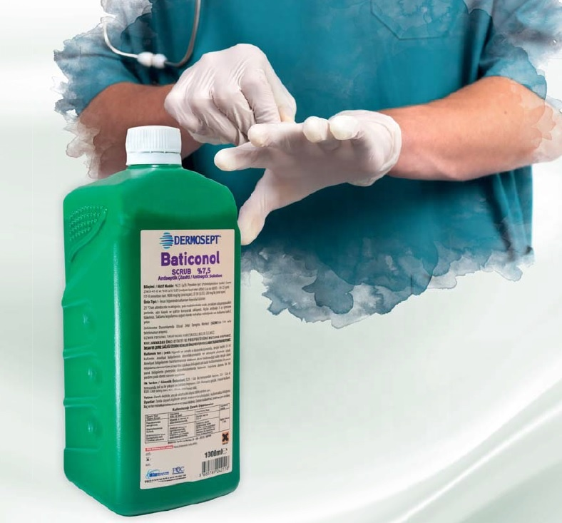 High Quality Surgical Disinfectant Povidone Iodine 7 5 1000 Ml