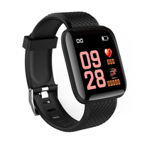 CE ROHS 116 Plus Heart Rate Smart Watch Bracelet
