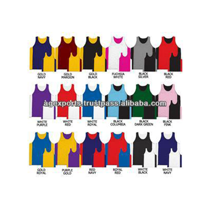 Billig reversible basketball uniformen