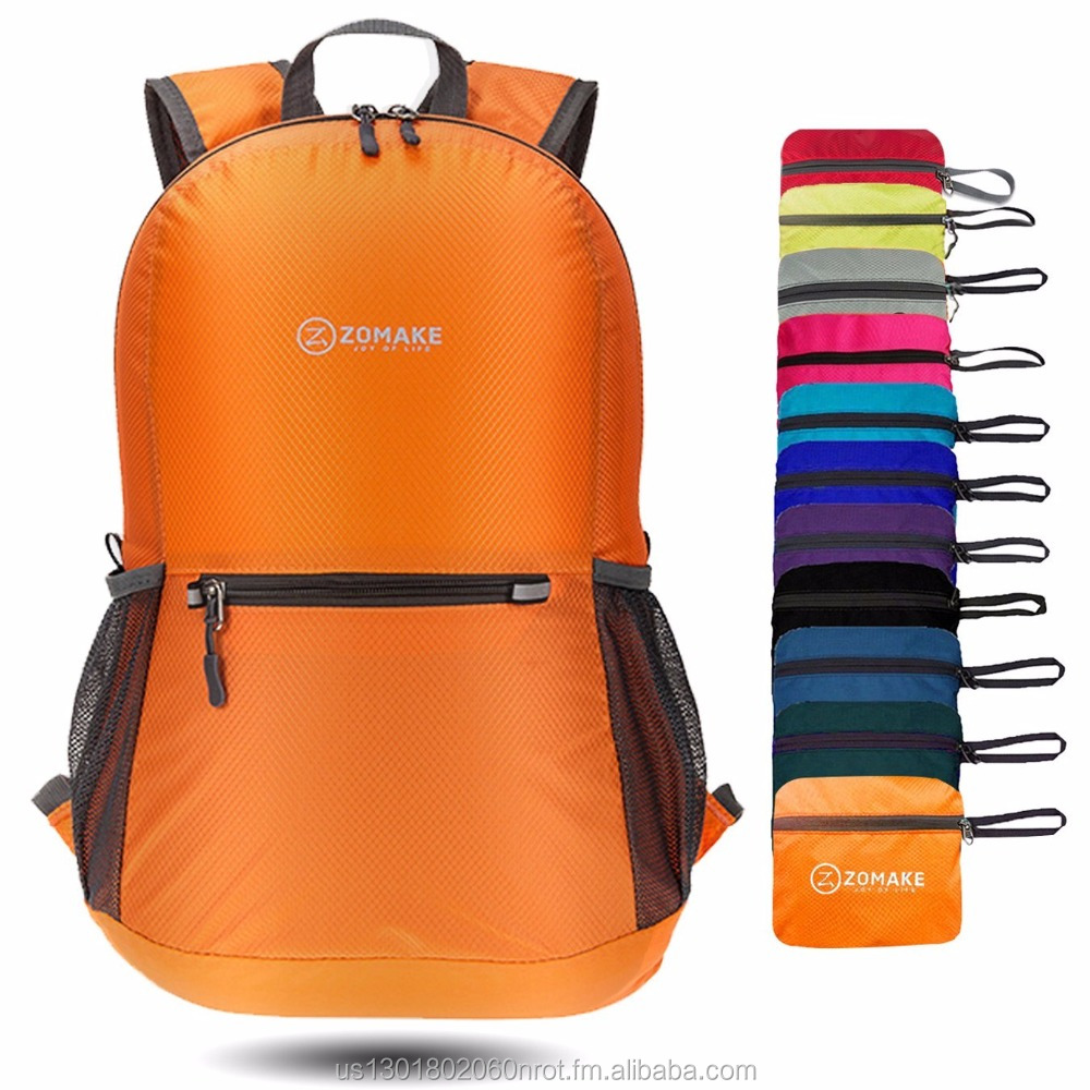 ZOMAKE Ultra Lightweight Packable Backpack Water Resistant Hiking Daypack e1ab64af70e51