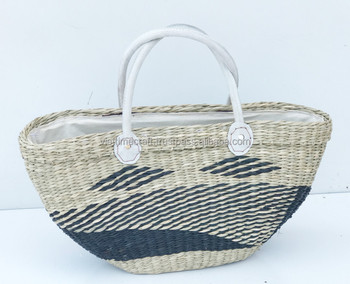 00b558a1516a Eco-friendly Seagrass Handbag made In Vietnam Wholesale - Buy ...