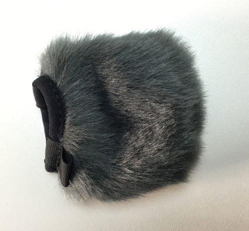 Furry Windscreen - Lavalier Microphone Windscreen - Furry Wind Muff - Lapel Microhpone Windscreen - Furry Mic Cover - Lavalier Windscreen for Outdoor Use - Lavalier Microphone Wind Muff - Wind Muff
