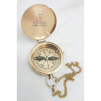 Nautical Flap Compass