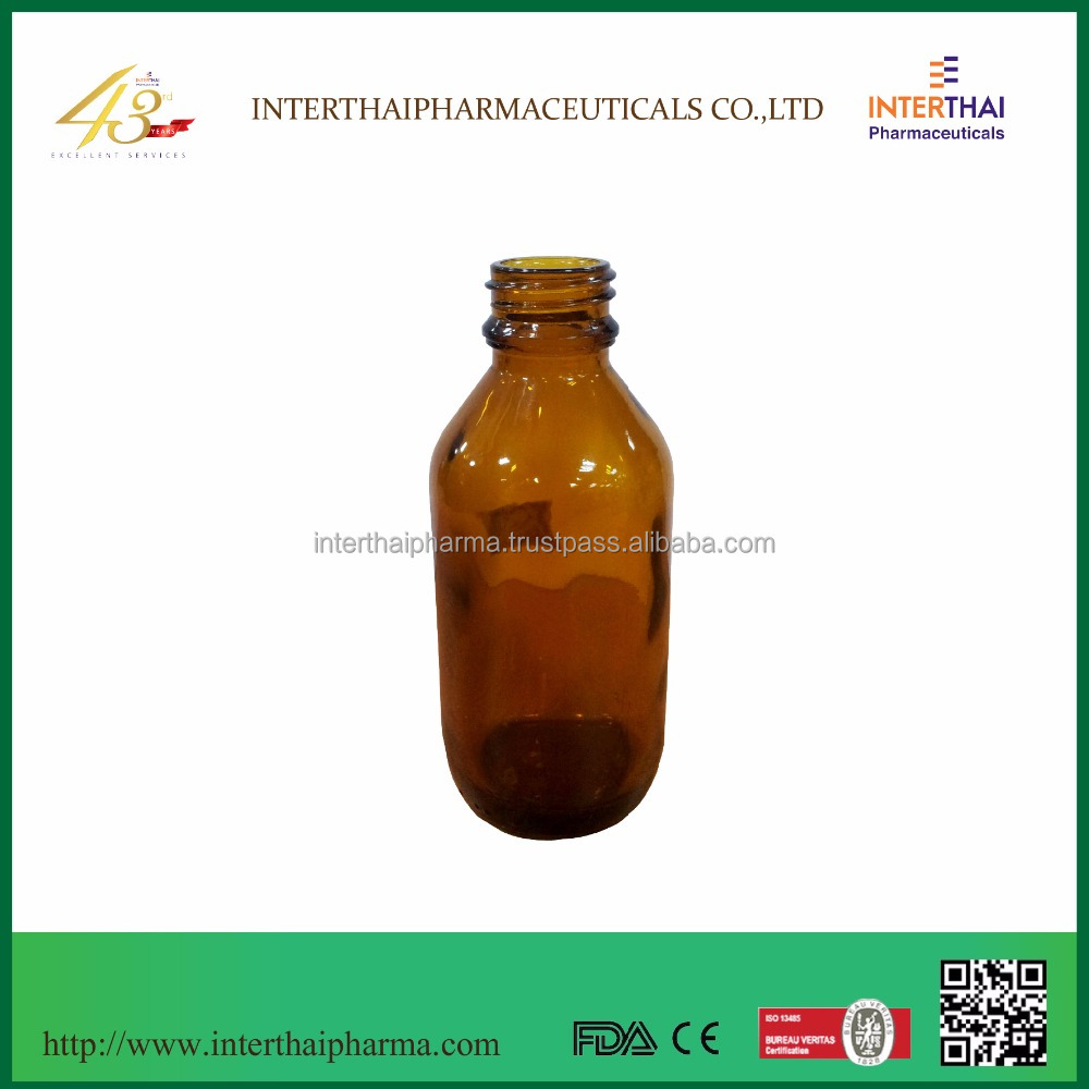 Amber Glass Bottle 100 ml