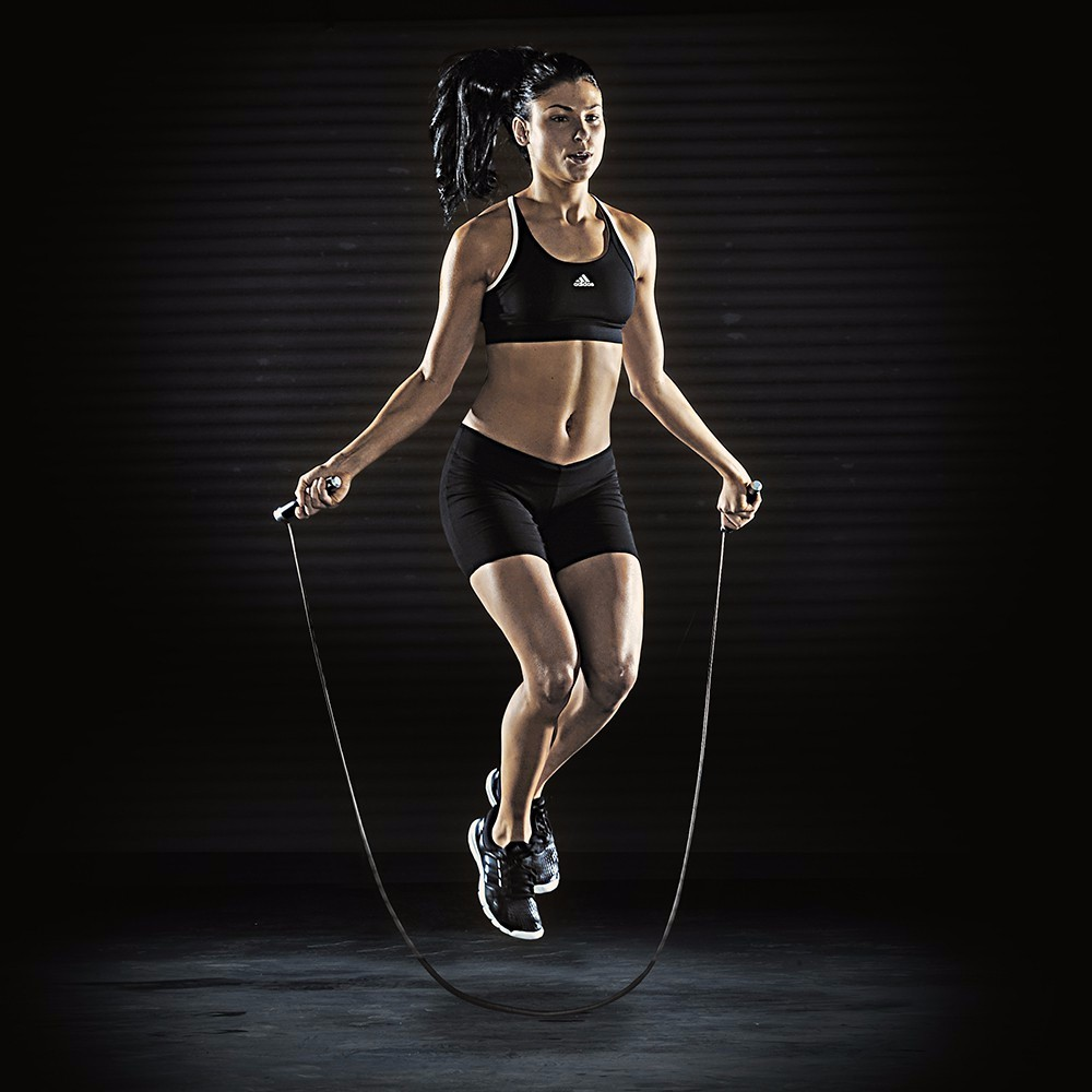 Adjustable cable Premium Speed Jump Rope with Handles