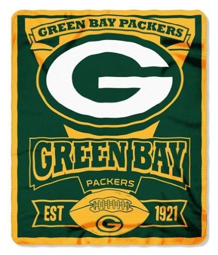 Buy Green Bay Packers Established Fleece Throw Blanket In Cheap Enchanting Green Bay Packers Throw Blanket
