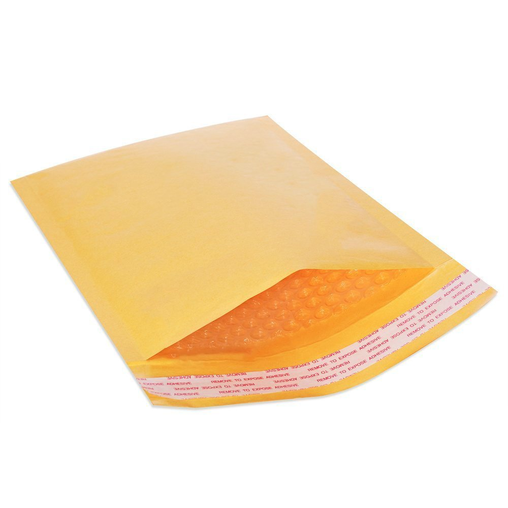 "Golden Kraft Self Seal Poly Bubble Mailer Padded Envelopes 100 Pcs All Size 4x8"" 6x10"" 8.5x12"" 9.5x14.5"" 14.25x20"" (9.5 x 14.5, 50)"
