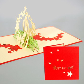 Enjoyable Happy Birthday 3D Hand Made Card Popup Greeting Cards View 3D Funny Birthday Cards Online Fluifree Goldxyz
