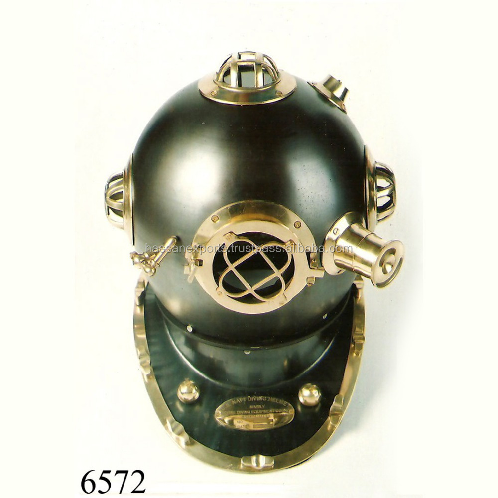 Diving Helmets Analytical Helmet Brass Diving Divers Key Nautical Keychain Chain Keyring Antique Finish Buy Now