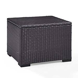 Crosley Furniture CO7224-BR Biscayne Outdoor Wicker Coffee Table