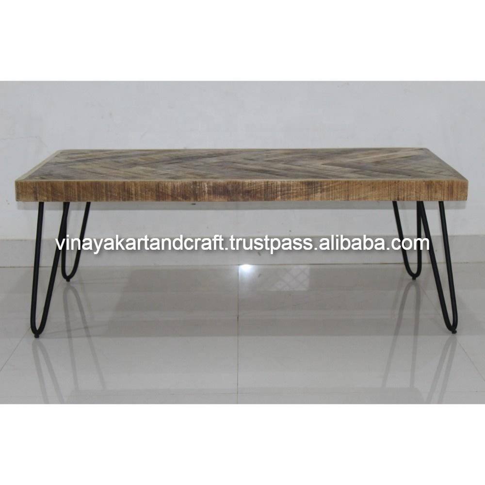 Vintage Industrial Coffee Table Jodhpur Antique Wooden Coffee