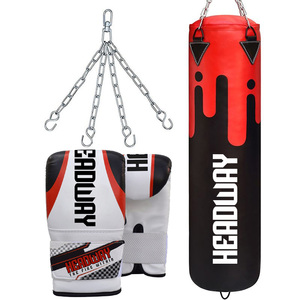 boxing training bags Filled and unfilled boxing punching bags custom sizes colors and designs with gloves