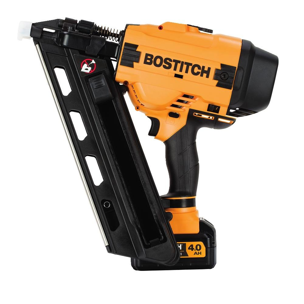 Get Quotations · BOSTITCH BCF30PTM1 20V MAX 30 Degree Paper Tape Cordless Framing Nailer (Includes Battery and Charger