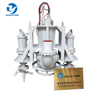Electrical Submersible Slurry Suction Pump With Side Cutters
