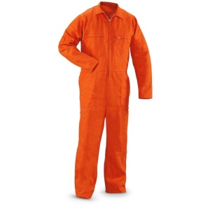 OEM logo factory direct safety coverall with reflector