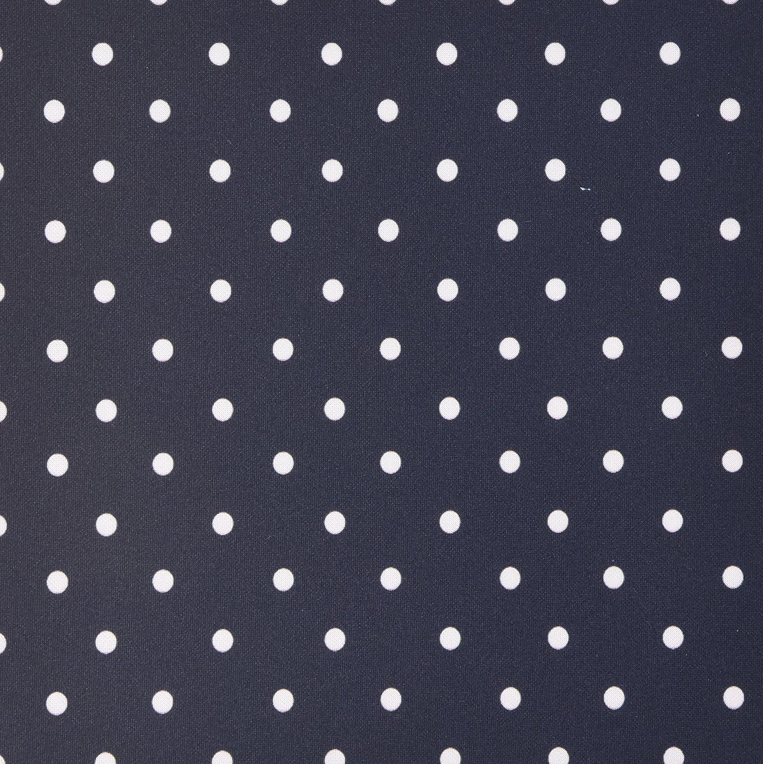 3dRose LLC 8 x 8 x 0.25 Inches Mouse Pad, Black and White Polka Dot Pattern Small Dots Stylish Classic Classy Elegant Retro Dotty Spotty (mp_120245_1)