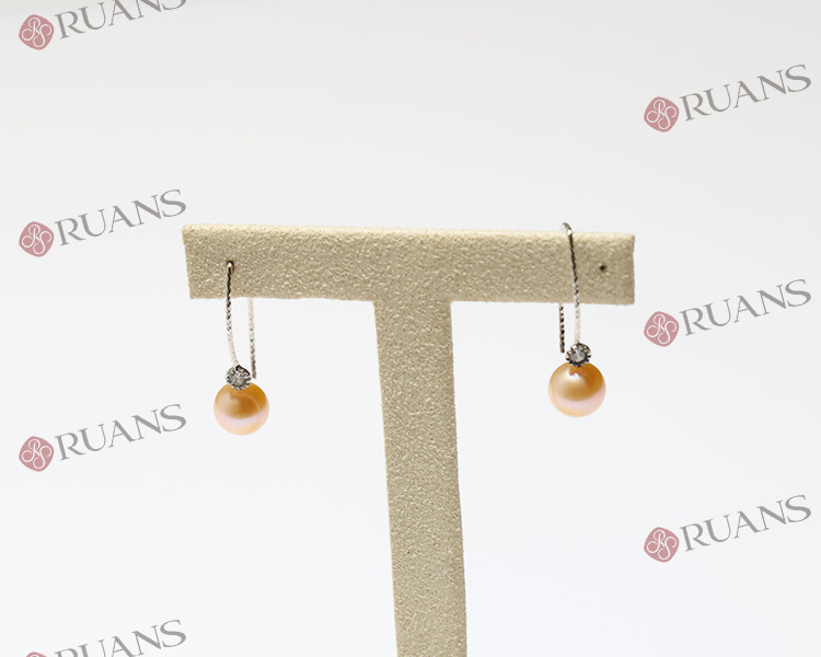 Fashion Silver Earring With Freshwater Pearl