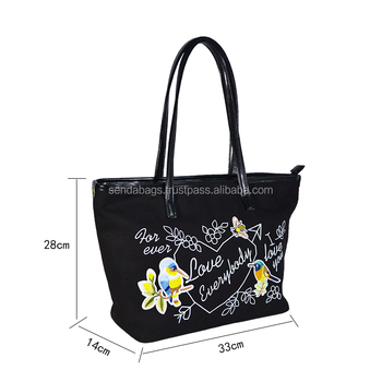 Fashional customize tote bag for lady fashion made in Vietnam