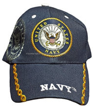 Buy Caps and Hats U.S. Navy Baseball Cap Military Mens One Size