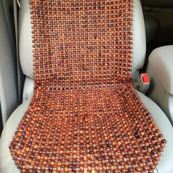 Vietnam Agar Wood Beads Sheet For Car Seat Covers To Replace Leather