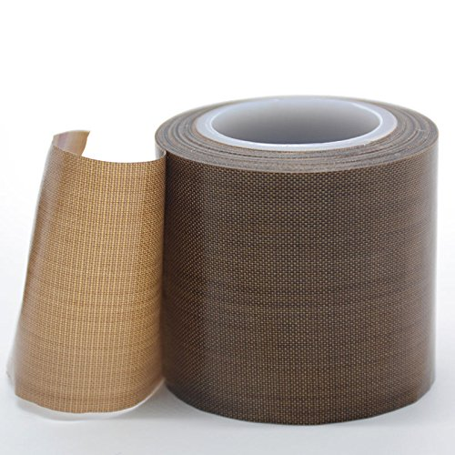 5 mil Thickness 1//2 x 18 Yards 3 Core 1//2 x 18 Yards 3 Core 855L-0012 MAXI Maxi 855L-0012 PTFE Coated Fiberglass Cloth Tape with High Temperature Silicone Adhesive Excluding Dimpled Liner