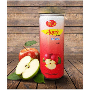 Fresh Apple Juice Top Star - with pulp - OEM